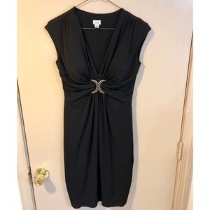 Cache Black Cocktail Evening Dress - EUC